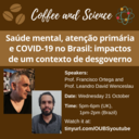 coffee and science 21october